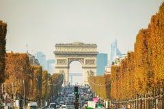 Arc de Triomphe de λ ` Etoile στο Παρίσι Στοκ Φωτογραφίες