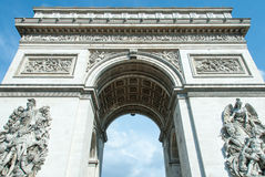 Arc de Triomphe de l'Étoile Στοκ Εικόνες