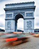 Arc de Triomphe de l'Etoile, θριαμβευτική αψίδα, Παρίσι, Γαλλία Στοκ Φωτογραφίες
