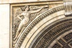 Arc de Triomphe de l'Etoile στη θέση του Charles de Gaulle, Παρίσι, Γαλλία Στοκ Εικόνες