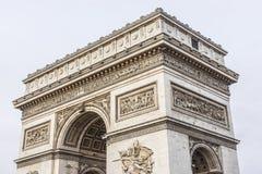 Arc de Triomphe de l'Etoile στη θέση του Charles de Gaulle, Παρίσι, Γαλλία Στοκ Φωτογραφίες