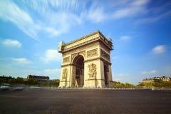Arc de Triomphe de l'Etoile Στοκ φωτογραφίες με δικαίωμα ελεύθερης χρήσης