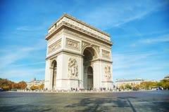Arc de Triomphe de l ` Etoile em Paris, França Foto de Stock Royalty Free