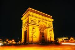 Arc de Triomphe de l'Etoile in Paris Royalty Free Stock Image