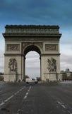 Arc de Triomphe Detail in Paris. France Stock Images