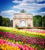 Arc de Triomphe du ιπποδρόμιο, Παρίσι, Στοκ εικόνες με δικαίωμα ελεύθερης χρήσης