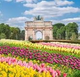Arc de Triomphe du ιπποδρόμιο, Παρίσι, Στοκ Εικόνες