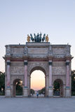 Arc de Triomphe du ιπποδρόμιο στο Λούβρο ΙΙ Στοκ Εικόνες