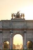Arc de Triomphe du ιπποδρόμιο στο Λούβρο VII Στοκ Εικόνα