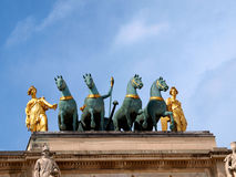 Arc de Triomphe du ιπποδρόμιο Στοκ φωτογραφίες με δικαίωμα ελεύθερης χρήσης