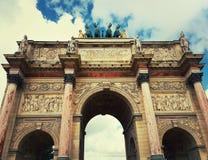 Arc de Triomphe du Carrossel imagem de stock royalty free