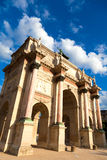 Arc de Triomphe du Carrossel, Paris Fotografia de Stock