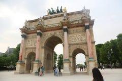 Arc de Triomphe du Carrouse - Παρίσι Στοκ φωτογραφίες με δικαίωμα ελεύθερης χρήσης