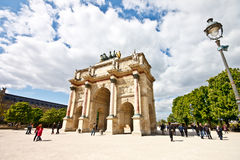 Arc de Triomphe du Carrousel 1 Royalty Free Stock Image