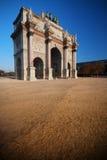 Arc de Triomphe du Carrousel. In Paris Royalty Free Stock Photo
