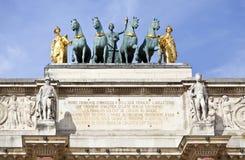 Free Arc De Triomphe Du Carrousel Stock Photos - 22938223