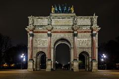 Arc de Triomphe du Carrousel Photo stock