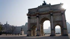 Arc DE Triomphe du Carrousel Stock Afbeeldingen
