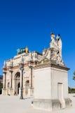 Arc de Triomphe du Carrousel Stockfotografie