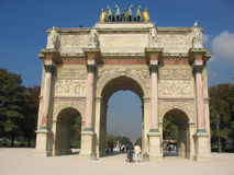 Arc de Triomphe du Carrousel Royalty Free Stock Image