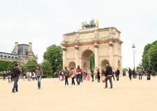 Arc de Triomphe du Carrousel Fotos de archivo