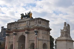 Arc DE Triomphe du Carrousel Stock Foto's