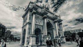 Arc de Triomphe du Carrousel Images libres de droits