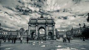 Arc de Triomphe du Carrousel Images stock