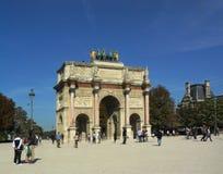 Arc de Triomphe du Carrousel imagen de archivo libre de regalías