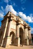 Arc de Triomphe du Carrousel, Parigi Fotografia Stock