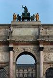 Arc de Triomphe du Carrousel, Parigi, Francia Immagine Stock Libera da Diritti