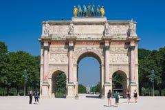 The Arc de Triomphe du Carrousel Royalty Free Stock Photography