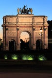 Arc de Triomphe du Carrousel,  Paris, France Royalty Free Stock Images