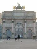 Arc de Triomphe du Carrousel Stock Photos