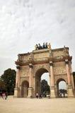 The Arc de Triomphe du Carrousel. Paris, France - September 5, 2014: The Arc de Triomphe du Carrousel Stock Photo