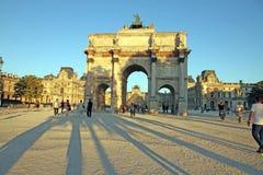 Arc de Triomphe du Carrousel Paris Royalty Free Stock Photos