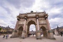 Arc de Triomphe du Carrousel. In Tuileries Garden. Paris, France Stock Image