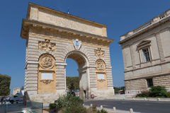 Arc de Triomphe, Fance Στοκ Εικόνες