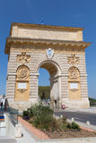 Arc de Triomphe, Fance. Arc de Triomphe, Аugust 03, 2017 in Montpellie, Fance Royalty Free Stock Photo
