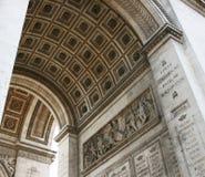 Arc de Triomphe, fragmento Fotografía de archivo libre de regalías