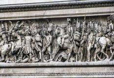 Arc de Triomphe-Frieze Στοκ φωτογραφία με δικαίωμα ελεύθερης χρήσης