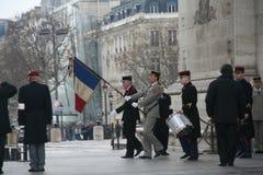 Arc DE Triomphe helden Royalty-vrije Stock Afbeelding