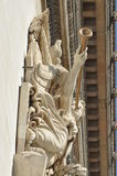 Arc de Triomphe i Paris. Royaltyfri Bild