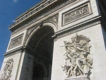 Arc de Triomphe i Paris Royaltyfri Foto