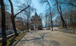 Arc de Triomphe i Vladivostok Royaltyfri Fotografi