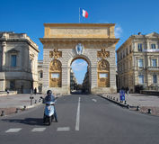 Arc De Triomphe In Montpellier Royalty Free Stock Photography