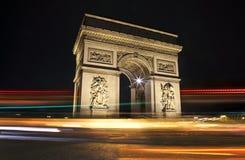 Arc De Triomphe. The magnificent Arc De Triomphe in Paris Royalty Free Stock Images