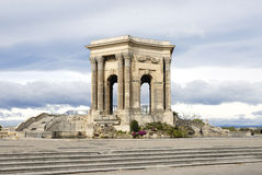 Arc de Triomphe, Montpellier. Monument of Garden of Peyrou, Montpellier, Languedoc Roussillon, France Stock Photo