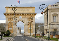 Arc de Triomphe, Montpellier Royalty Free Stock Image
