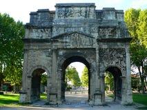 Arc de triomphe, Orange ( France ) Stock Photos